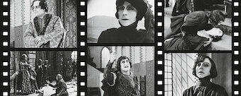 Hamlet (1921, starring Asta Nielsen) Silent film with music from Michael Riessler