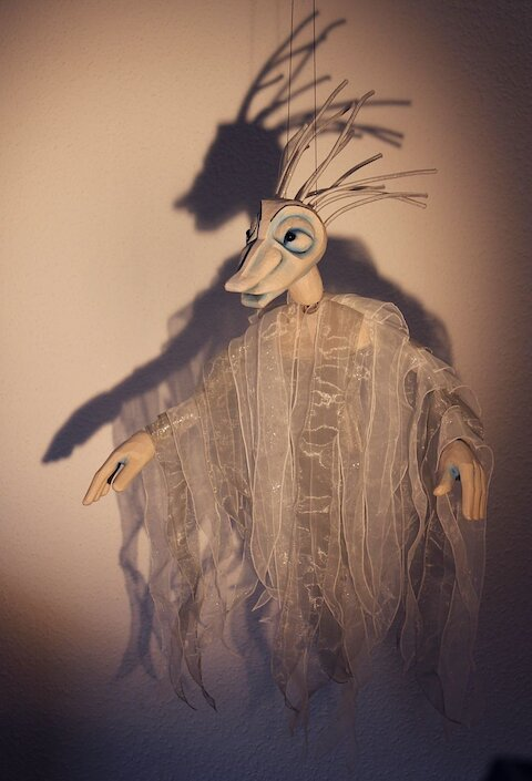 The Storm or the Island of Magical Creatures - A play with puppets, people and shadows for children